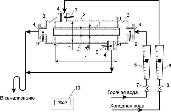 Теплообменник на гидравлической схеме теплообменники из 2-х секций по 2-ступенчатой схеме